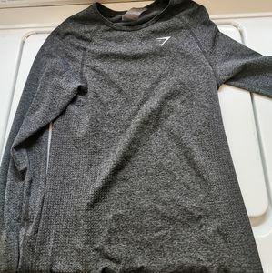 Gymshark Seamless Shirt - Full Length Grey